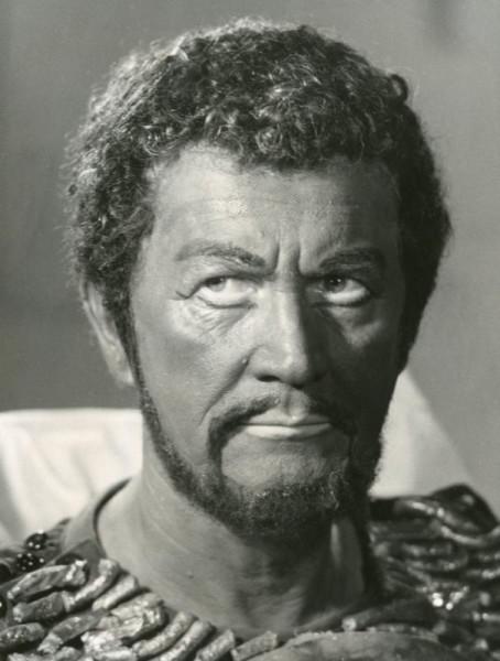 Otello szerepében (fotó: Magyar Állami Operaház)