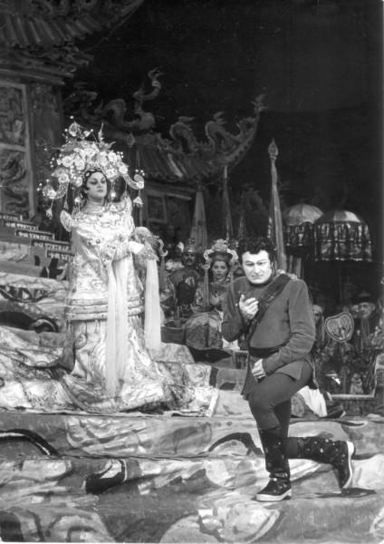 Takács Paulával a Turandotban