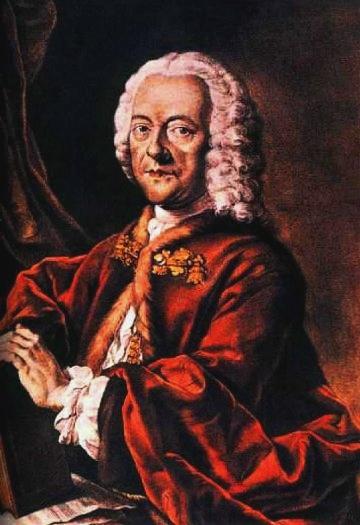 Georg Philipp Telemann (Valentin Daniel Preisler másolata Louis Michael Schneider elveszett festményéről)