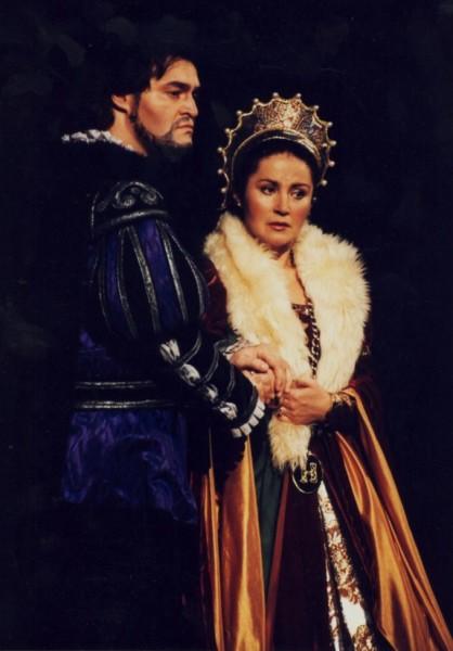 Fried Péterrel a Boleyn Annában (Fotó: Mezey Béla)