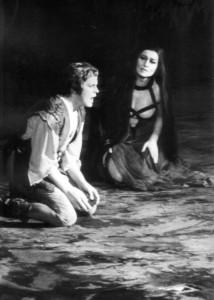 Kasza Katalin és Molnár András  a Parsifal 1983-as felújításán a Magyar Állami Operaházban (fotó: Mezey Béla)