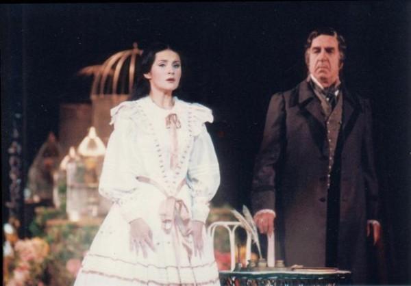 Traviata Melis Györggyel (Fotó: Mezey Béla)