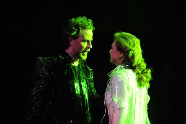 Meláth Andrea és Cser Krisztián egy korábbi előadásban