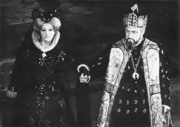 Erzsébet a Don Carlosban - Fülöp király: Boris Christoff