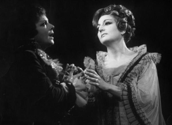 A rózsalovag tábornagynéja - Octavian: Házy Erzsébet