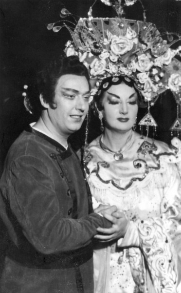 Nikola Nikolovval a Turandotban