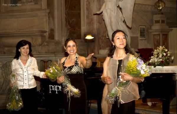 A spanyol est résztvevői: NagyMárta, Jenny Navarro és Ryoko Tajika Drei