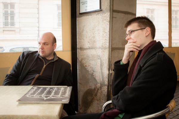 Gryllus Samu és Balogh Máté (fotó: Vermes Tibor)