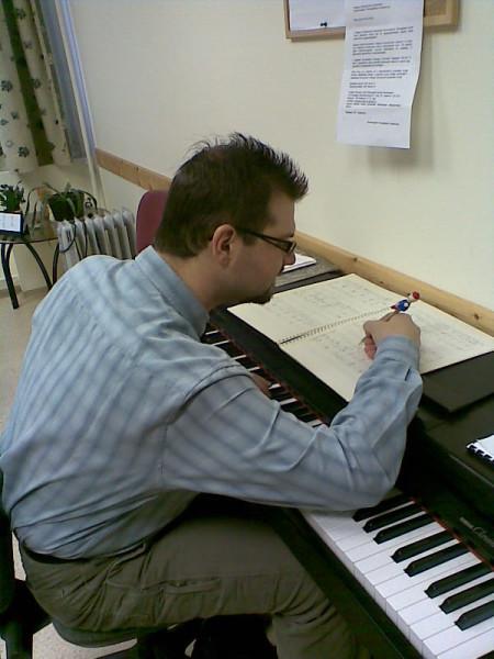 Komponálás közben