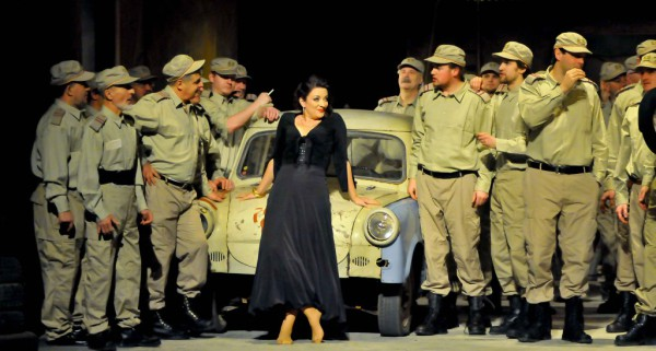 Carme a debreceni Csokonai Színházban (fotó: Csokonai Színház)