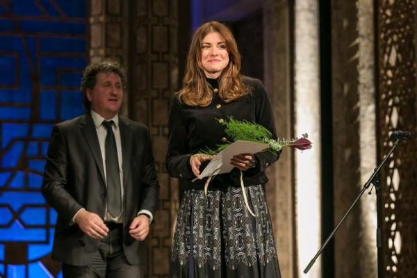A díjátadáson Ókovács Szilveszter főigazgatóval