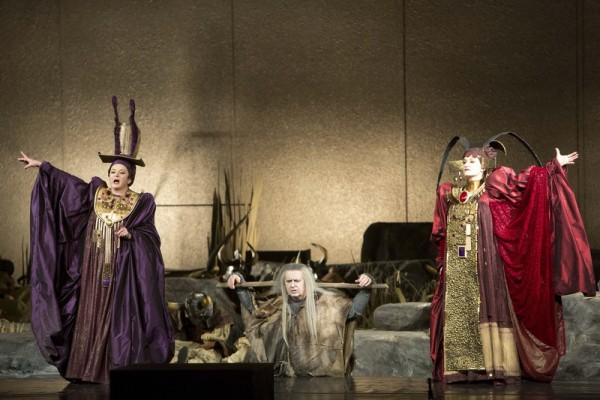 Bátori Évával és Rálik Szilviával a Learben (fotó: Magyar Állami Operaház)
