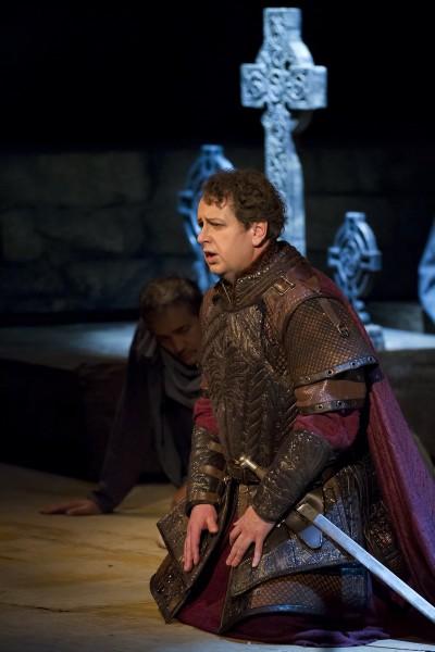 Macduff szerepében (fotó: Magyar Állami Operaház)