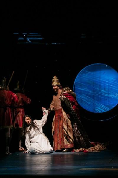 A Nabucco Fenénája, Kálmándi Mihály partnereként (fotó: Magyar Állami Operaház)