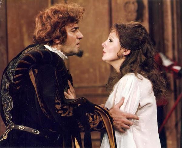 Miller Lajossal a Rigoletto TV-változatában