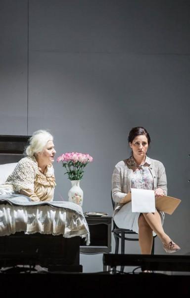 Balatoni Évával a Szerelem című operában (fotó: Rákossy Péter, Csibi Szilvia)