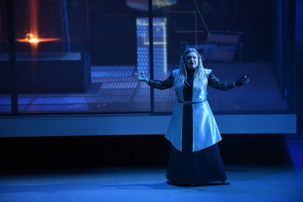 Az istenek alkonya – Első norna (fotó: Karl Foster / Hessisches Staatstheater Wiesbaden)