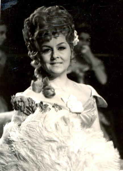 Violetta 1970-ben (Fotó: MTI)