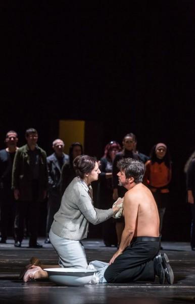 László Boldizsárral a Szerelem című operában (fotó: Rákossy Péter, Csibi Szilvia)