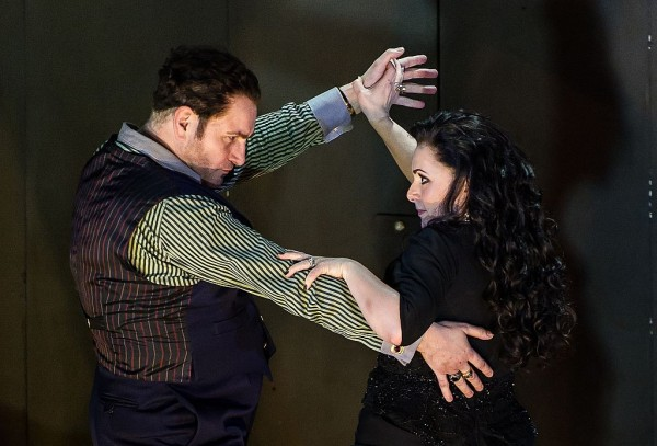 Rodelinda és Bertarido tangója - Rebecca Evans és John Mark Ainsley (fotó: Clive Barda)