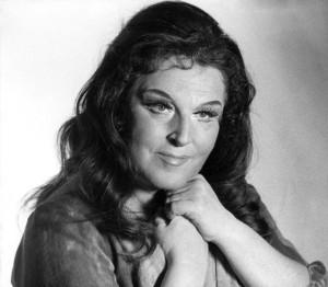 Birgit Nilsson mint kelmefestőné - Stockholm, 1975.