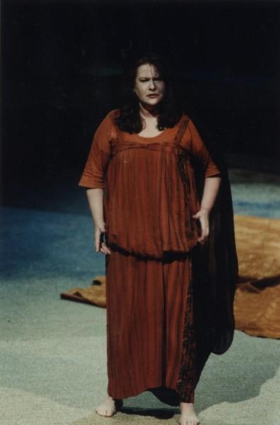 Marton Éva mint kelmefestőné - Salzburg, 1992.