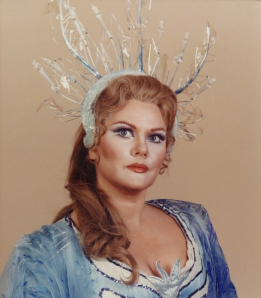 Marton Éva mint császárné - Met, 1981.
