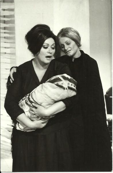Moldován Stefánia (Feleség) és Szabó Anita (Anyós) az 1964-es ősbemutatón