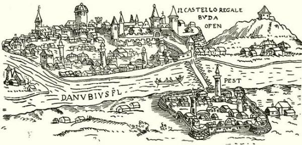 Buda és Pest a 16. században