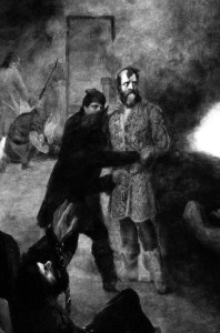 Részlet Madarász Viktor Dózsa című festményéből