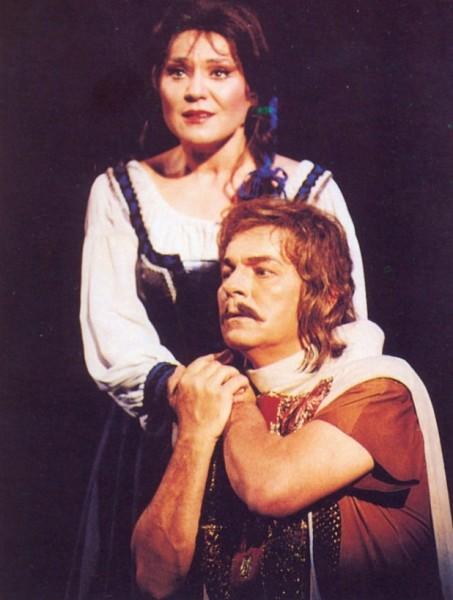 Kukely Júlia (Rózsa) és Csák József (Dózsa) az Erkel Színház 1994-es premierjén