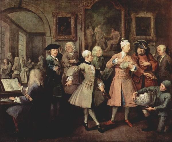 William Hogarth: A Rake's Progress 2.