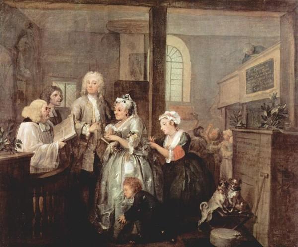 William Hogarth: A Rake's Progress 5.