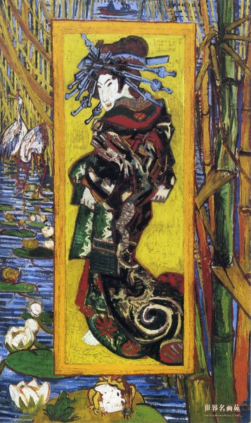 Vincent van Gogh: La Courtisan (1887)