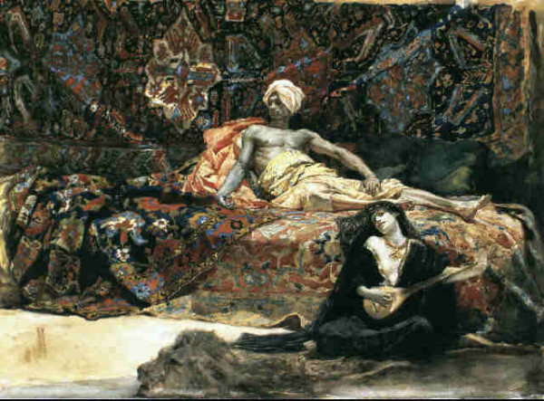 Henri Regnault: Hassan et Namouna (1870)