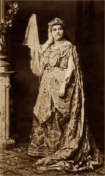A bécsi ősbemutató címszereplője: Amalie Materna