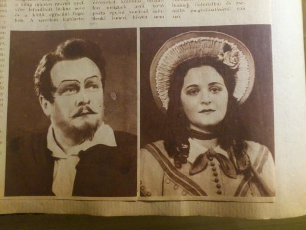 Részlet egy korabeli újságból