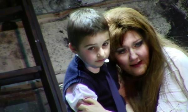 A szegedi Bánk bánban - Szabó Zsomborral