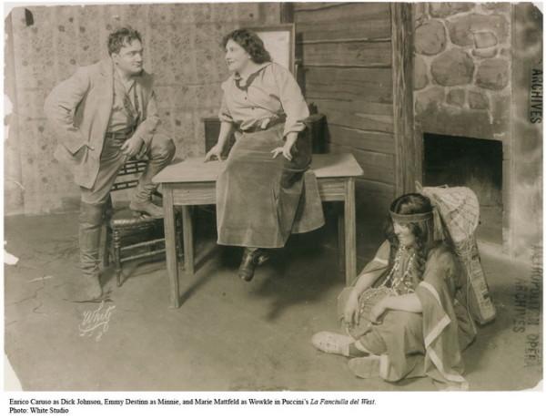Emmy Destinn és Enrico Caruso