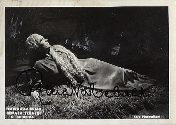 Renata Tebaldi Margitként a Scalában