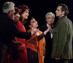 Gárday Gábor, Schöck Atala, Vizin Viktória, Mitilineou Cleo, Derecskei Zsolt és Kovácsházi István (Fotó: Éder Vera)