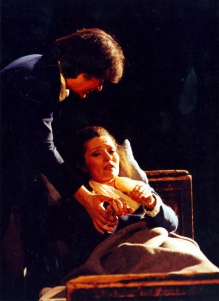 Bohémélet Kelen Péterrel 1991-ben (Fotó: Mezey Béla)