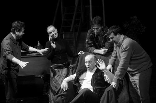 Halasi Imre, Vermes Tímea, Kováts Kolos, Geiger Lajos, Horváth István (fotó: Bócsi Krisztián)