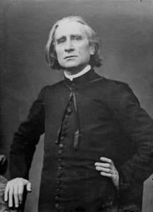 Pierre Petit fotója Lisztről