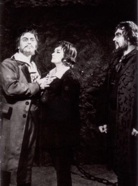A Fidelióban Szigeti Lászlóval és Mészáros Sándorral