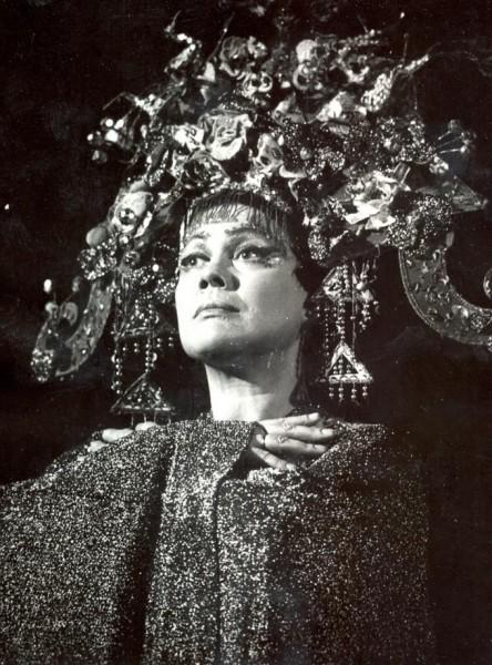 Turandot szerepében