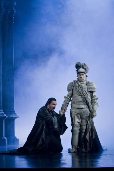 Don Giovanni és a kormányzó: Szegedi Csaba és Berczelly István (fotó: Tomas Opitz)