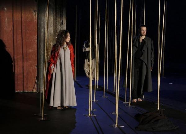 Leila Benhamza (az Éj királynõje) és Jean-Christophe Born (Monostatos)