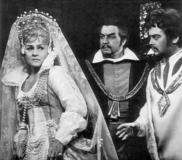 A Lammermoori Luciában Ágai Karolával és Turpinszky Bélával