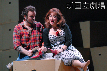Duett a II. felvonásból, a partner Stephanie Friede (Fotó: Saegusa Chikashi)
